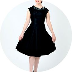 Stop Staring Tiffany Dress Black £179 one of many Stop Staring Dresses at Revival Retro in London UK.