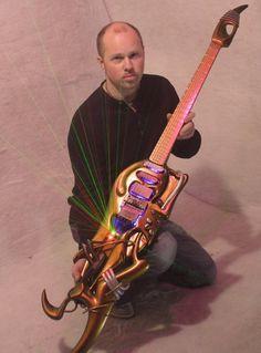 Check out Steve Vai's Emerald Ultra Guitar   MusicRadar