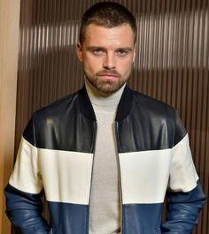 Sebastian Stan | Hugo Boss FW2018 Omg this man can rock the turtle neck