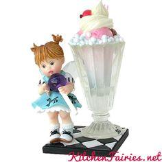 Lollipop Soda Fairie - From Series Twenty Seven of the My Little Kitchen Fairies collection