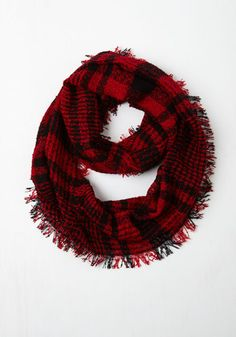 Wrap Song Circle Scarf in Red From the Plus Size Fashion Community at www.VintageandCurvy.com
