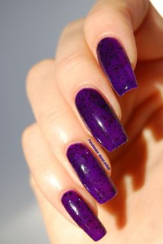 Love Thy Polish - Berry Berry Purple.
