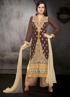 Fancy Embroidery Work Designer Pakistani Salwat Suits
