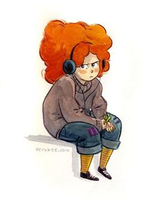 Eleanor and Park Character Design Teen, Character Concept, Character Inspiration, Fanart, Illustrations, Illustration Art, Eleanor Y Park, Rainbow Rowell, Wow Art