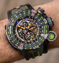 Richard Mille RM Tourbillon Adventure Sylvester Stallone Is One Of The Wil. Richard Mille RM Tourbillon Adventure Sylvester Stallone Is One Of The Wildest Watches Of The Year Hands Richard Mille, Popular Watches, Best Watches For Men, Cool Watches, Gadget Watches, Casual Watches, Rolex, Sylvester Stallone, Audemars Piguet