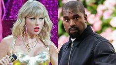 Taylor Swift Shades Kanye West At Vmas 10 Years After Infamous Interruption In 2020 Taylor Swift Kanye West Celebrity Feuds Kanye West