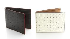 Think this wallet is unique w/o being overbearing. Perfect gift for the guy(s) in your life.