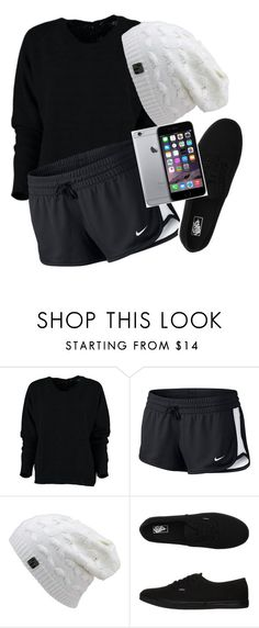 """""""Ugg"""" by pandaslover ❤ liked on Polyvore featuring NIKE, Vans and Apple"""