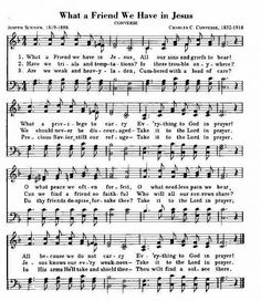 My mother's favorite hymn