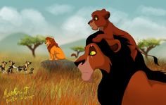 """Scar is going completely mad. He is becoming more and more persistent telling us that the leader of the Lion Guard should also be a king of Pridel. End of the Lion Guard Lion King Simba's Pride, The Lion King 1994, Lion King Fan Art, Lion King 2, Lion King Movie, Disney Lion King, King Art, The Lion King Characters, Lion King Drawings"