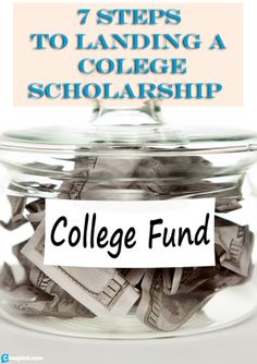 Get free money for college. Follow these 7 steps to find and earn scholarships! Photo - flickr.com/photos/76657755@N04/