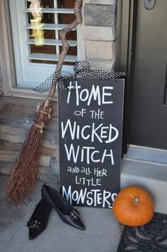 home of the wicked witch.......
