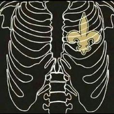Heart of a Saints fan! Love my Saints! Saints Game, Nfl Saints, New Orleans Saints Logo, New Orleans Saints Football, Falcons Game, Best Football Team, Football Humor, Football Fans, Football Season
