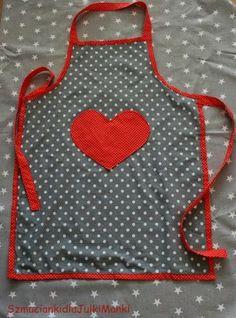 szmacianki dla Julki i Mańki Cotton Dreams / dotted apron