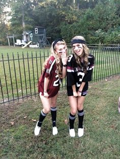 Sports Day Outfit Ideas Picture 49 trendy sport day outfit spirit week football sport in Sports Day Outfit Ideas. Here is Sports Day Outfit Ideas Picture for you. Sports Day Outfit Ideas how to wear sport outfits with zaful skirts chicisim. Football Halloween Costume, Halloween Costumes For Teens Girls, Cute Group Halloween Costumes, Trendy Halloween, Cute Costumes, Halloween Outfits, Football Player Costume, Teen Costumes, Halloween Ideas