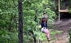 Spend an afternoon ziplining high above the trees taking in the view before enjoying a digital souvenir photo and merchandise discounts