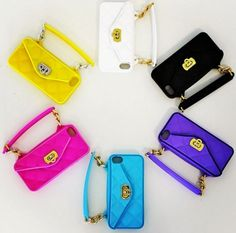 Just saw these today at the 2015 Las Vegas Market!  Colorful pursecases! #stylinanddialin http://www.pursecase.com
