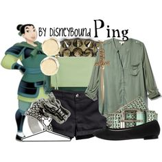 """""""Ping"""" by leslieakay on Polyvore //"""