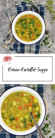 Experimente aus meiner Küche: Erbsen-Kartoffel-Suppe