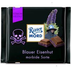 Ritter Sport Fake Sorte - morbid