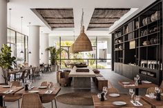 Casa Cook Rhodes, a boutique hotel who brings together a modern take on traditional Greek architecture with a warm, and nomadic style. Decor, Interior, Hotel, Interior Styling, Bohemian Hotel, Basket Chair, Interior Design Blog, Interior Design, Hotels Design