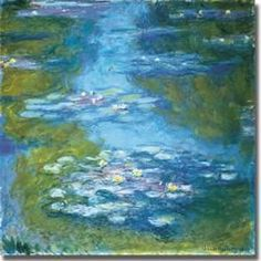 I want a comforter in Monet, that would be cool