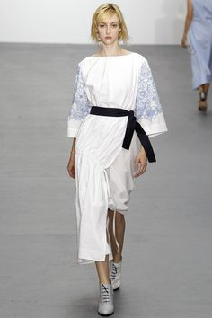 Eudon Choi Spring 2016 Ready-to-Wear Fashion Show