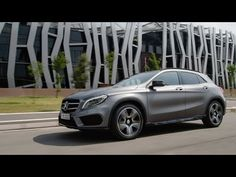 #GLA - the new compact SUV of Mercedes-Benz. [Fuel consumption (combined): 6.6-4.3 l/100 km; CO2 emissions (combined): 154-114 g/km]