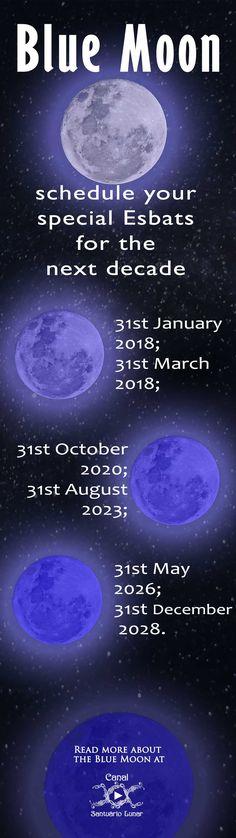 ☽✪☾...Blue Moon Calendar