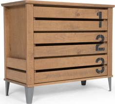 Aldgate chest of drawers, pine from Made.com. Light Wood. Express delivery. Their clothes might be small, but they sure take up space. Our Aldgate c..
