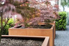 Houseplants That Filter the Air We Breathe Buy Andes Cube Corten Steel Planters The Pot Company Garden Planters, Planter Pots, Planter Ideas, Small Garden Plans, Types Of Steel, Corten Steel Planters, Weathering Steel, Small Gardens, Garden Planning