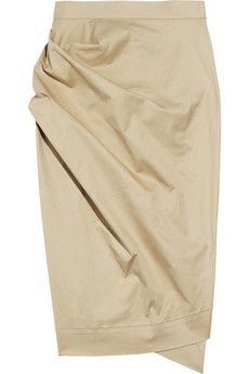 92a53909bc10 Vivienne Westwood Anglomania - Philosophy stretch cotton-twill skirt