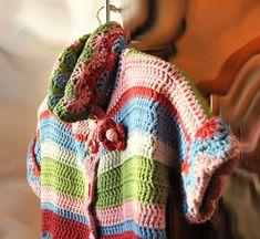 "Мусатова Оксана Хобби: Пальто ""бабушкин коврик"" Crochet Coat, Crochet Cardigan, Crochet Clothes, Crochet Dresses, Crochet Shell Stitch, Crochet For Kids, Crochet Baby, Irish Lace, Beautiful Crochet"