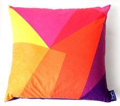 after matisse cushion sunset by sonya winner | notonthehighstreet.com