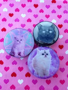 Devil Kitty Plugs- 6mm-50mm (SOLD INDIVIDUALLY, NOT AS PAIR)
