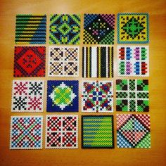 Hama perler bead designs by villi_ingi