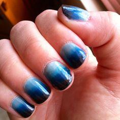 My hombre nails
