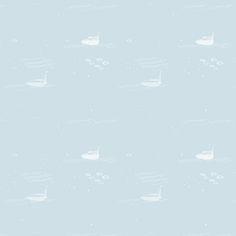 O papel Mar foi criado para ser usado sozinho ou acompanhado do painel Mapa-Mundi para os casos em que a parede for maior do que o painel.  A simplicidade do desenho de barcos e ondas brancos sobre um fundos de cores pastéis ajudam a criar ambientes claros e harmoniosos. Ideal para quartos de bebês e crianças.