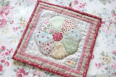 Cherry Heart: Farmhouse Potholders