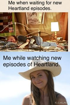 I want to watch Heartland NOW.
