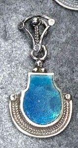 Bijoux verre romain