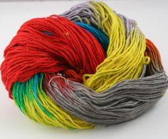 Silk Roving Yarn from #DGY