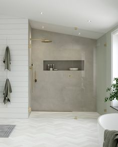ARC - When uniqueness and flexibility is as important as beauty. There is a solution for every space. Australia House, Classic Furniture, Bathroom Interior Design, Master Bathroom, New England, Arcade, Bathtub, Shower, Mirror