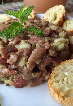 Como hacer #steak tartar paso a paso en el blog
