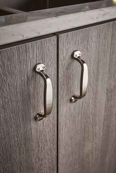 """Asbury Collection Trunk Cabinet Pull from Top Knobs. M1261 - 3 3/4""""cc Pull in Polished Nickel finish."""