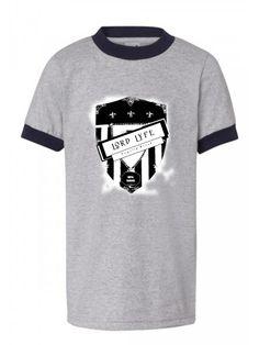 Lord Lyfe Co. Loyalty Brand Ringer Tee ~   Grey/Black      ***       Find it Now @  www.LordLyfe.com