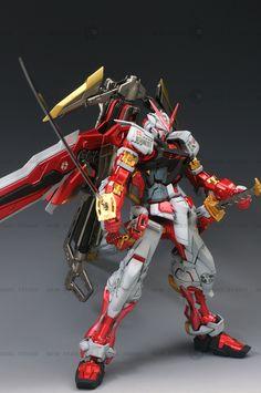 GUNDAM GUY: MG 1/100 Gundam Astray Red Frame Kai - Customized Build