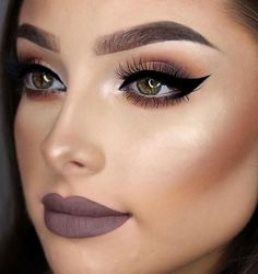 Bold makeup looks, full face makeup, pretty makeup, gorgeous makeup Flawless Makeup, Gorgeous Makeup, Pretty Makeup, Love Makeup, Skin Makeup, Makeup Inspo, Makeup Inspiration, Makeup Ideas, Makeup Tutorials
