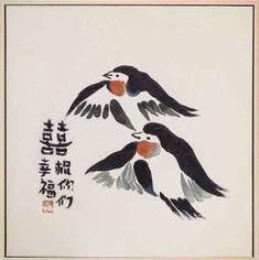 Wunderschönes original Ölgemälde von Vögeln. Perfekt als Geschenk für jede Wand & Ihr Zuhause! Beautiful original oilpainting of birds. Perfect as a gift, for any wall &home! #aubaho #auktionshausbadhomburg #antik #antique #painting #oilpainting #gemälde #ölgemälde #art #kunst #paint #artist #künstler #asiatica #asiatika #vogel #bird #tier #animal #fliegen #giftidea #geschenkidee #geschenk #china #glück #heirat #hochzeit #liebe #asia #schwalbe #artvibes #walldecoration #wanddeko