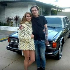New picture of Lana Del Rey and Bradley Soileau on the set of the 'Blue Jeans' music video in 2012 #LDR